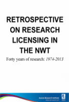 Retrospective on research licensing in the NWT