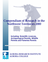 2000 Compendium of Research in the Northwest Territories
