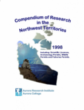 1998 Compendium of Research in the Northwest Territories