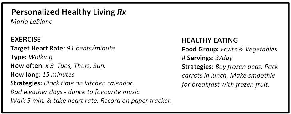 Sample RX; HealtheSteps