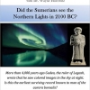 Did the Sumerians see the Northern Lights in 2100 BC?
