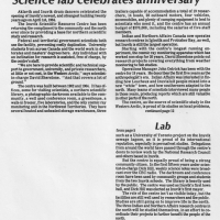 Inuvik Drum article on the 20th anniversary of research in Inuvik