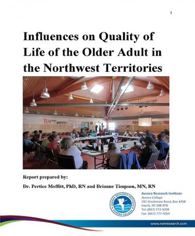 Quality of life of older adults in the NWT report