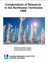 1999 Compendium of Research in the Northwest Territories