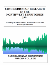 1994 Compendium of Research in the Northwest Territories