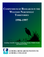 1996-197 Compendium of Research in the Northwest Territories