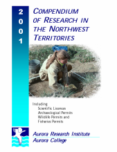 2001 Compendium of Research in the Northwest Territories