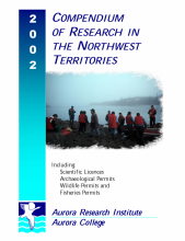 2002 Compendium of Research in the Northwest Territories