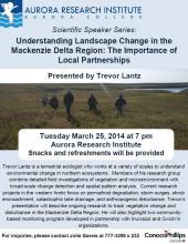 Understanding Landscape Change in the Mackenzie Delta Region
